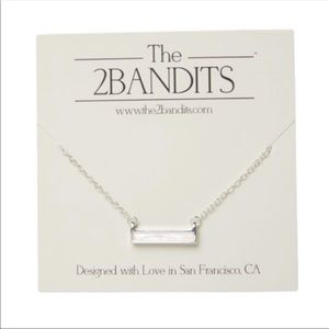The 2 Bandits opal necklace